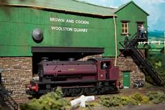 Woolston Quarry (EugeneEverson) Tags: electric train build moorecameraclub warringtonmodelrailwayclub
