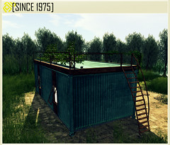 [Since 1975] - Container House ([ Since 1975 ]) Tags: life urban house home fashion store mesh grunge decoration cargo structure sl container second hd shipping