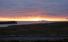 Sunset over Foula (Island Trails, Shetland.) Tags: sunset shetland foula
