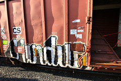 (o texano) Tags: bench graffiti texas houston trains hindu gtb freights benching hindue