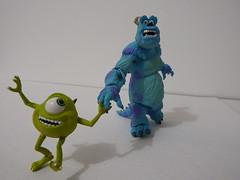 Sully & Mike 06 (Matheus RFM) Tags: michael sully monstersinc wazowski revoltech