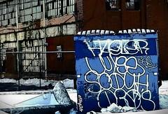 Dumpster divin... (attn_g3tr) Tags: graffiti detroit d30 wyse hael soduh esey