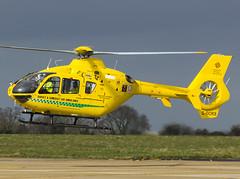 G-DORS Eurocopter EC-135T-2 (MTV Aviation Photography) Tags: norwich bond eurocopter nwi egsh eurocopterec135t2 bondhelicopters ec135t2 gdors dorsetsomersetairambulance