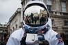 spaceman selfie (jonron239) Tags: reflection me photographer astronaut courtyard somersethouse selfie londonfashionweek apollo11 buzzzzzzaldrin