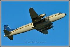 N100CE Everts Air Cargo (Bob Garrard) Tags: air cargo douglas anc dc6 everts panc liftmaster c118 dc6a c118a n100ce