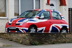 The Great British.... (stavioni) Tags: car jack nissan britain flag union great micra