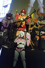 Hot Rod and Arcee (Stephen Gardiner) Tags: toronto ontario concert pentax transformers bloorstreet transformersthemovie 2015 100300 k20d bloorhotdocscinema cybertronicspree