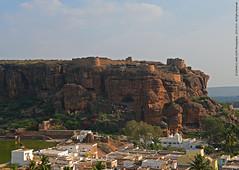 FULL VIEW OF BADAMI CAVES (GOPAN G. NAIR [ GOPS Photography ]) Tags: india photography cave karnataka badami caes gops gopan gopsorg gopangnair gopsphotography