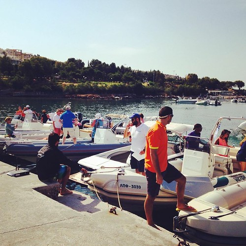 One year ago, preparations for Rib Cruises Event! #boats #sea #event #greece #ribcruises #sailing