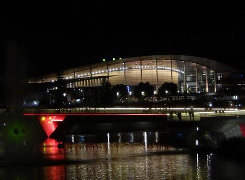 Convention Centre On Footbridge