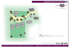 Executive development master plan for CSH 6 gated private community in greenbelt.