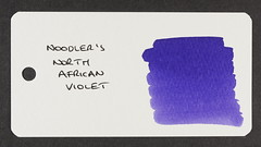 Noodler's North African Violet - Word Card