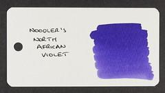 Noodler's North African Violet - Word Card