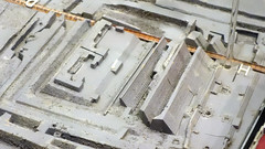 model of the ruins of the Templo Mayor
