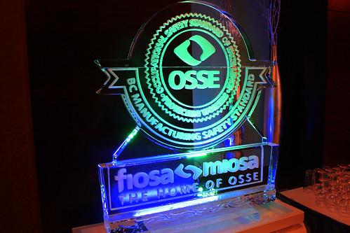 FIOSA-MIOSA OSSE Ice Sculpture