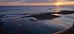 Un altro giorno se ne va - Another day goes (Jambo Jambo) Tags: park sunset sea italy parco beach italia tramonto mare eu tuscany toscana spiaggia grosseto maremma parcodellamaremma marinadalberese parcoregionaledellamaremma caladiforno nikond5000 jambojambo