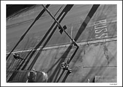 Down on the street (frode skjold) Tags: bw monochrome oslo norway norge blackwhite shadows skygger munkedamsveien fujifilmx20 photoshopelements12