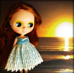 Blythe a Day April 20, 2015 Sunset