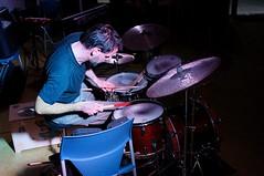 Philipp Ernsting on drums (Gerard de Boer) Tags: drums rotterdam jazz seeds improvisation crooswijk freejazz philippernsting