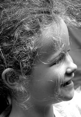 Street Portrait (patrick_milan) Tags: street people blackandwhite bw white black monochrome smile children noir child noiretblanc nb rue enfant fille sourire blanc personne streetview gens