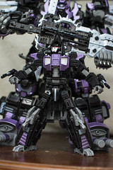 The spare bot (Jon..Hall) Tags: scale transformers oversized upgrade masterpiece shrapnel insecticon skywarp nerorex