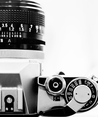 Flash Shutter Speed (Catskills Photography) Tags: camera highkey canonae1 odc breaktherules canon50mmf18lens