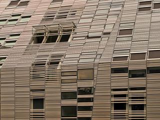 Das moderne Haus in Mainz