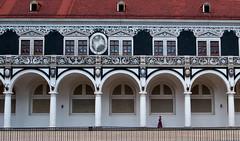 """ Stallhof, Dresden (pigianca) Tags: architecture germany dresden streetphoto urbanphoto restauro colonnato sassonia ricohgriv"