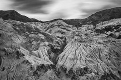 moonland of lamayuru (dr_zook81) Tags: light blackandwhite cloud moon india white mountain black texture monochrome rock stone clouds landscape blackwhite rocks long exposure outdoor hill hills formation ladakh foothill lamayuru moonland