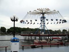 Swings (BunnyHugger) Tags: swings indiana amusementpark monticello indianabeach