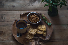 once evening (asri.) Tags: teatime indonesianfood foodphotography 2016 85mmf14 foodstyling darkbackdrop