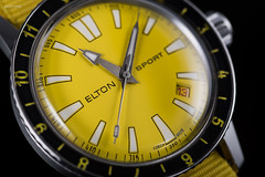 _7506430.jpg (pedro.gris) Tags: czech tradition date wristwatch watchphotography elton dial sport yellow hands crown prim traditional