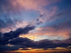 Beaux rves (Amiela40) Tags: sunset clouds colors couleurs
