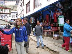 Khumbu (wronskydk) Tags: namgelsherpa namchebazar khumbu nepal