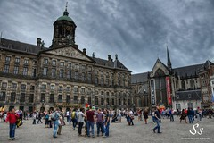 Dam (Shirshendu Sengupta) Tags: netherlands holland dutch amsterdam canal house dam square museumplein