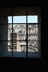 Roma (Mercedesdiaz) Tags: roma rome italia italy window ventana coliseo colisseum colosseum