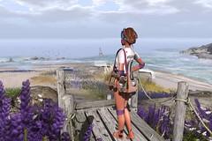 My dream is... (Katy Hastings) Tags: beach dream addams villena hairfair theepiphany barberyumyum kustom9 overlowposes