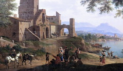 IMG_2946 Jacob de Heusch. 1656-1701.  Paysage ctier.  Coastal landscape. Montpellier. Muse Fabre. (jean louis mazieres) Tags: france museum painting montpellier muse museo peintures peintres musefabre thomasdeheusch