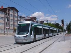 Konya 4223 Sakarya (Guy Arab UF) Tags: classic turkey five turkiye tram streetcar trams tramway section articulated strassenbahn skoda konya tramvay sakarya 4223 4224 forcity 28t