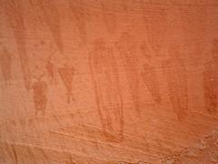 Alcove Gallery (glyphwalker) Tags: rockart petroglyphs alcovegallery barriercanyon horseshoecanyon canyonlands utah