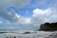 Skennars Head (dustaway) Tags: headland seascape poststorm sky ocean southpacificocean coralsea cloudscape waves breakingwaves coast northcoast nsw australia australianlandscape skennarshead