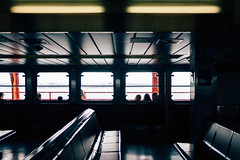 The Ferry (Dj Poe) Tags: statenislandferry ferry nyc ny manhattan statenisland 2016 newyork newyorkcity andrewmohrer djpoe sony zeiss carlzeisslenses a7rii a7r2 sonyilce7rm2 35mm distagont1435 ze availablelight people cinematic cinema candid tones colors