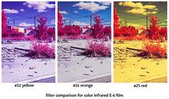 Color IR film filter comparison (Markus Jork) Tags: leica film 50mm summicron infrared m3 fpp colorir aerochrome