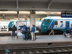 La Spezia (Italy) (photobeppus) Tags: laspezia stations trains railways rfi trenitalia