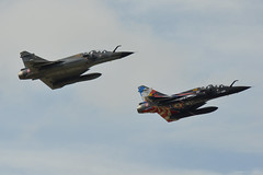 353 and 375 French Air Force Mirage 2000s Fairford 9/7/16 (David K- IOM Pics) Tags: 353 375 125am 125cl dassault mirage 2000 2000n ramex delta riat royal international air tattoo ffd egva fairford 2016 airshow french force