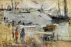 Berthe Morisot, Englische Meereslandschaft -  English Seascape (HEN-Magonza) Tags: berthemorisot impressionismus impressionism newarkmuseum newjerseyusa