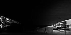 06:53 a.m. (Per sterlund) Tags: fujifilm fujifilmxt1 kista bnw bw baw monochrome mono street streetphotography streetphoto streetshot streets streetbw streetbnw city stockholm sweden fotografiadistrada fotografadecalle gatufoto strasenfotografie 2016 bridge walking