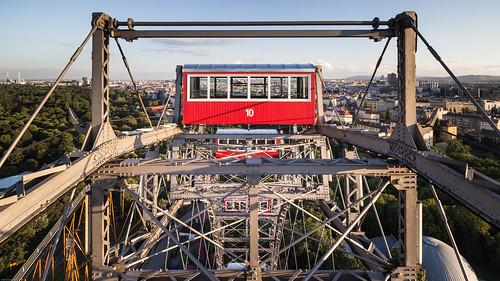 Top of the Riesenrad, Prater, Vienna