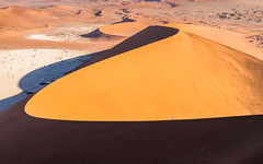 Ridge walkers (loveexploring) Tags: africa bigmama deadvlei namibnaukluftnationalpark namibsandsea namibia sossusvleiarea curve dune hiker landscape ridge ridgeline sanddune stardune walker worldheritage