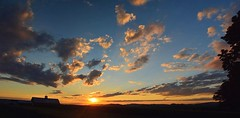 2016_0827Sunset-Pano0003 (maineman152 (Lou)) Tags: panorama sun sunset settingsun clouds cloudsatsunset sunsetclouds sky skycolor skycolors skyscape skyscene skyview skydrama summersky nature naturephoto naturephotography landscape landscapephoto landscapephotography summer august maine